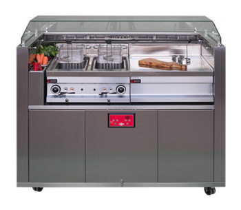 Mobile Front Cooking Station