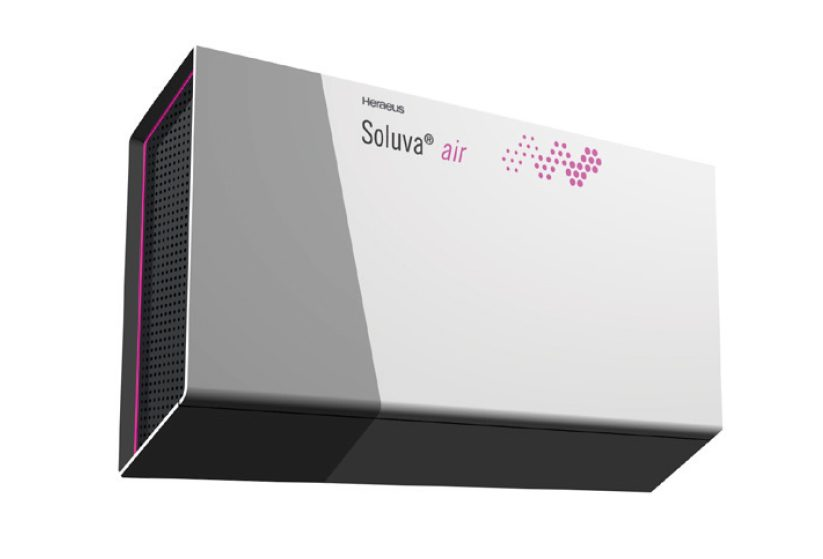 Wall-mounted UV Air Disinfection