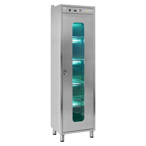 UV Cabinet material disinfection
