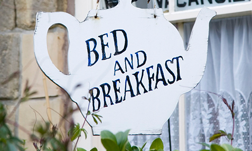 Bed and Breakfast disinfection