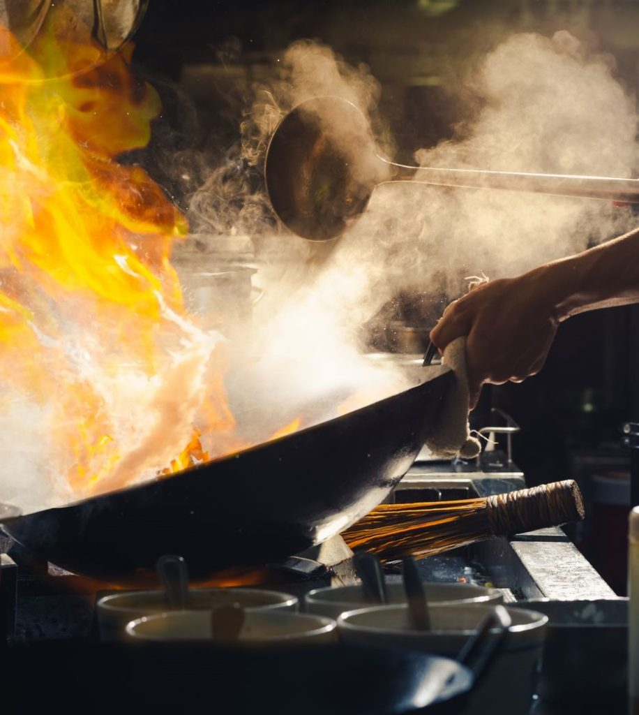 cooking smoke ESP